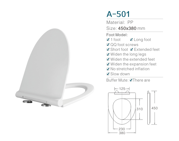 PP/Plastic Elogated Ultrathin Soft Close family toilet seat cover stainless steel hinges one button release toilet seats factory
