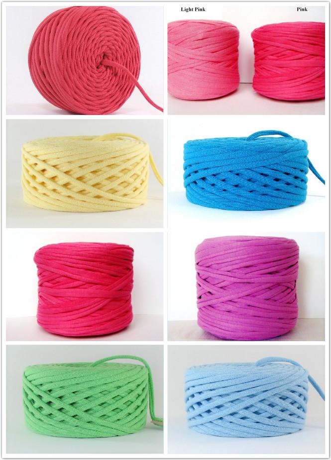 Fancy Design Hand Knitting Yarn Wholesale China T-shirt Yarn