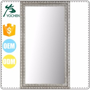 contracted decorative metal frame lowes wall mirror
