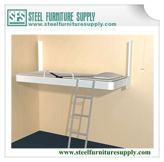 Wall-mounted Pullman Bed Steel Cabin Folding Bed Ship ...