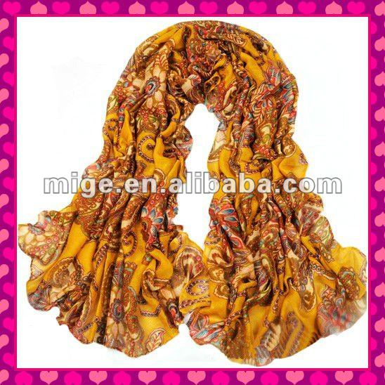 2012 Wholesale Polyester Scarf (FA038-5)