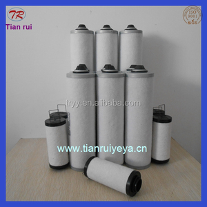 Green environmental protection vacuum pump filter