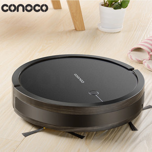 Family used square bagless cleaner intelligent robot vacuum and mop