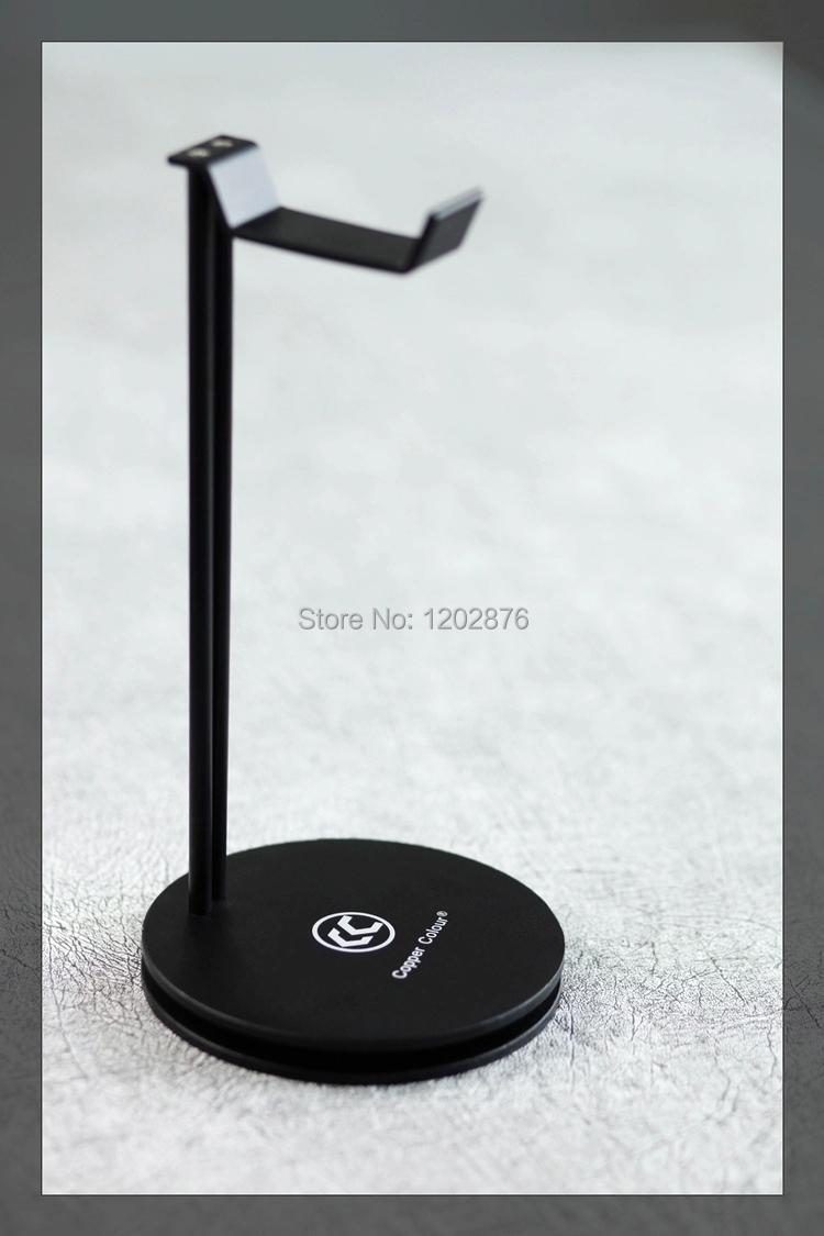 kupfer farbe schwarz aluminium legierung kopfh rer st nder. Black Bedroom Furniture Sets. Home Design Ideas