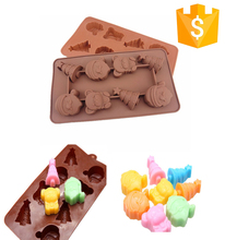 Hot Sale Funny Shaped Fashionable Custom Cake Mold Ice Tray Silicone Bakeware