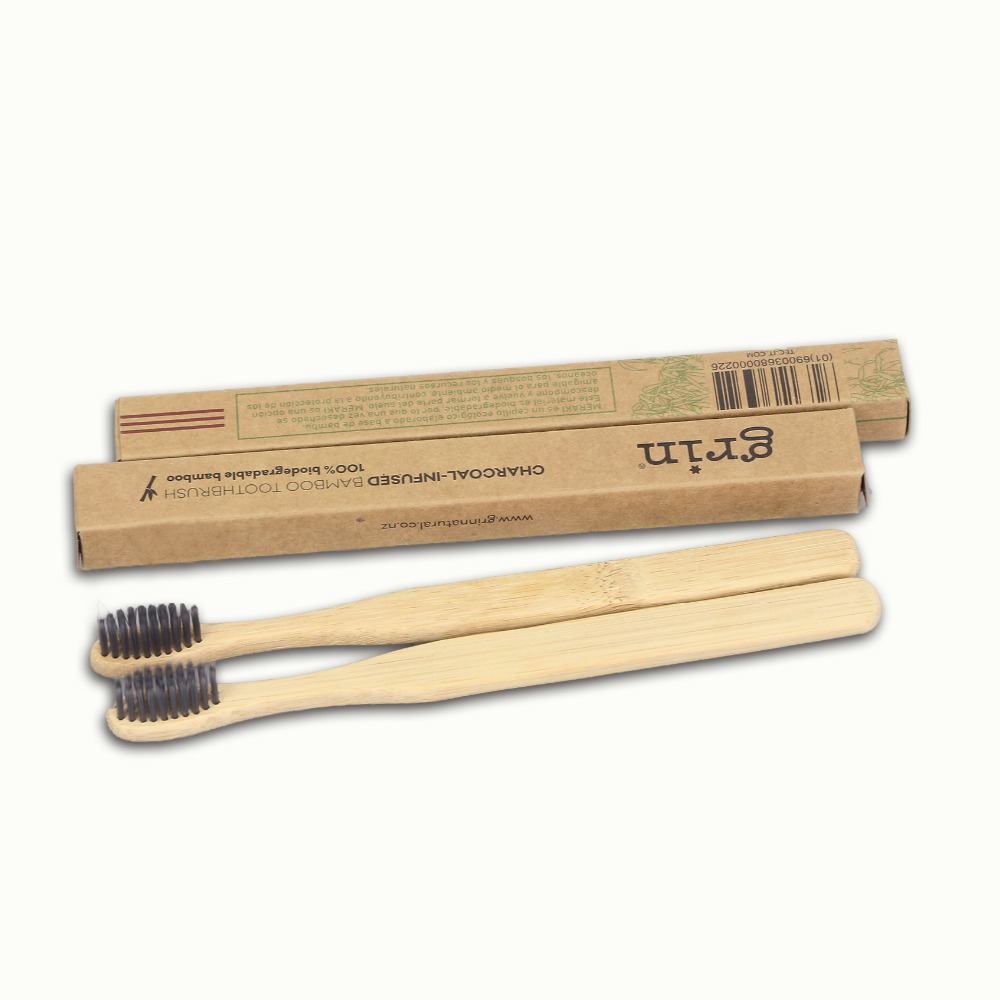 China 100% Nature Eco-Friendly Biodegradable <strong>bamboo</strong> Tooth brush