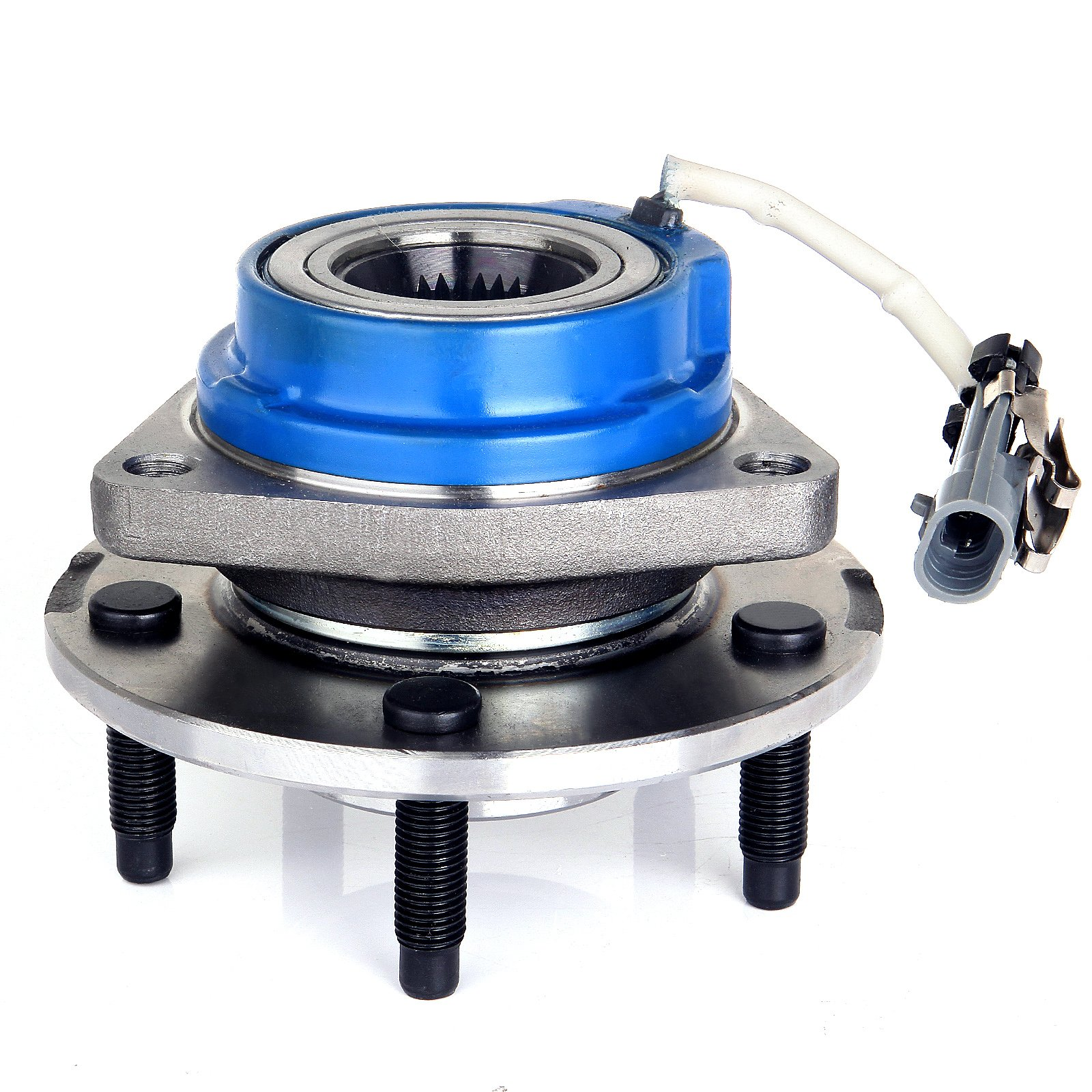 ECCPP 513121 Wheel Bearing Hub Front Wheel Hub and Bearing Assembly Allure, Aurora, Bonnevile, Century, Impala 5 Lug W/ ABS