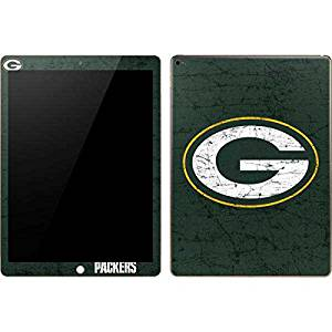 NFL Green Bay Packers iPad Pro Skin - Green Bay Packers Distressed Vinyl Decal Skin For Your iPad Pro
