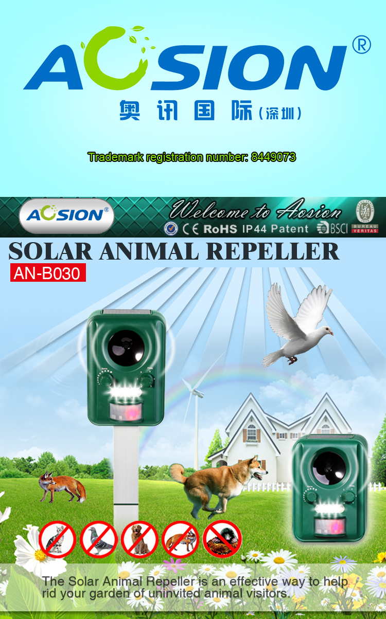 Garden dog and cat repellents AN-B030