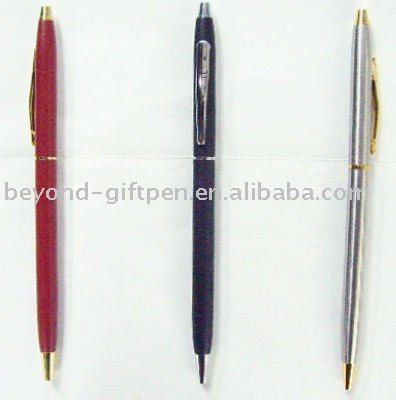 BND72 Glad, THIN twist metal ball pen