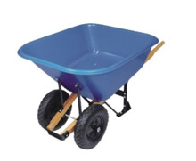 heavy duty 2 wheel garden wheelbarrow wb9600