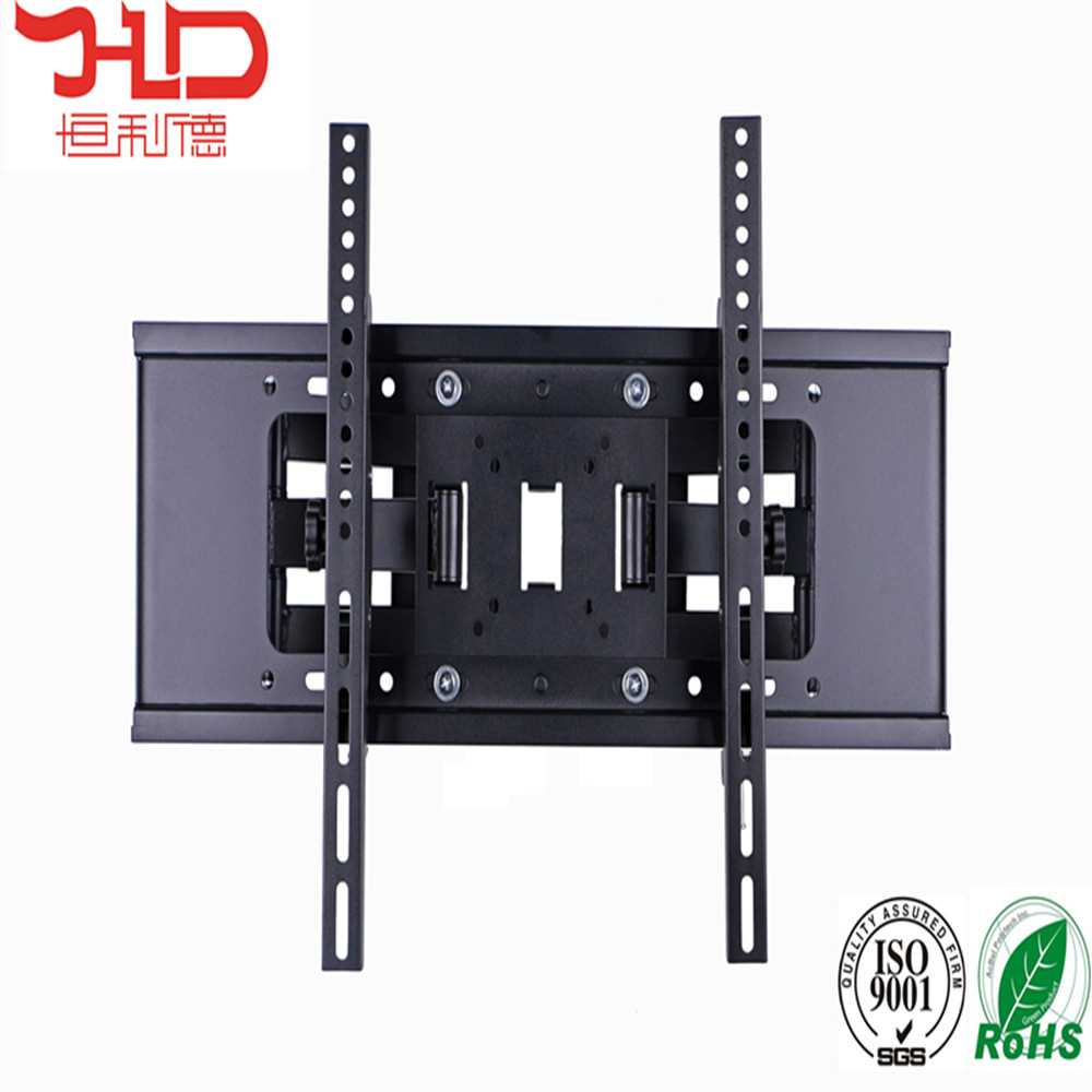 Dual Arm Tilt and Swivel Cantilever 180 degrees swivel tv wall mount for vesa 600*400mm lcd tv size