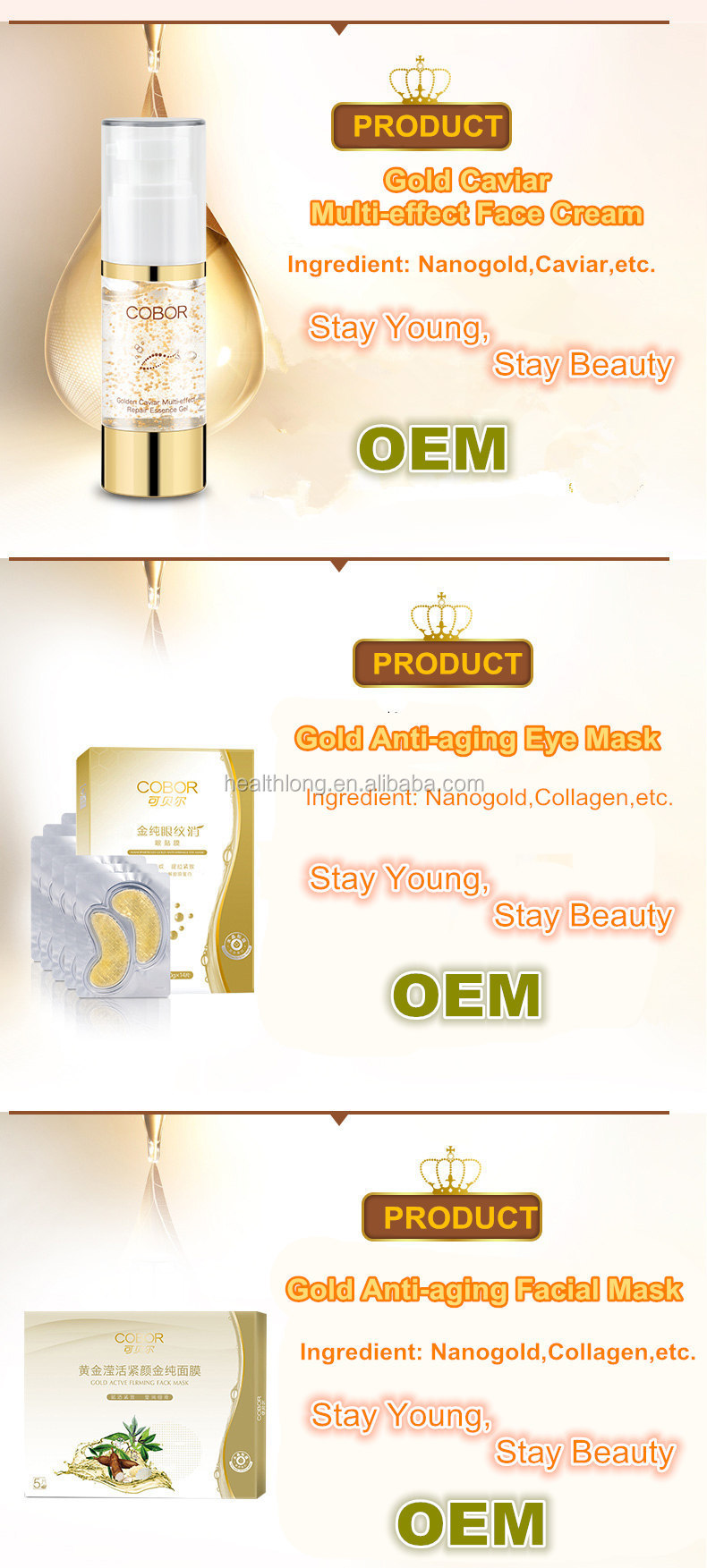 Products elderly care products elderly care products product on - Caviar Elderly Care Products Face Cream Skin Care Whitening Cream Set
