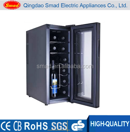 12 bottles thermoelectric mini portable wine cellar/ lowes wine cooler