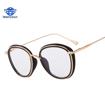 3ae6a575417 Women Retro Oval Optical Frames Eyeglasses men Classic Glasses wholesale  cheap 2018 trending products bulk buy. View larger image