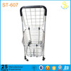 Guangzhou factory functionable and portable folding shopping cart trollery