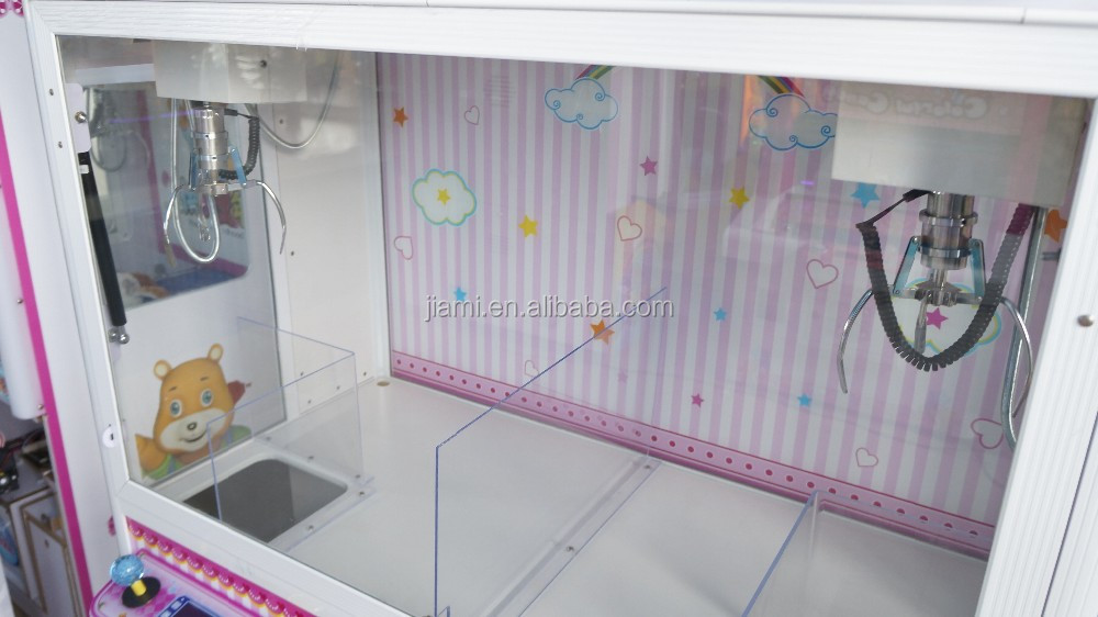 Twin Bears Crane Claw Machine Push Toy Machine Vending
