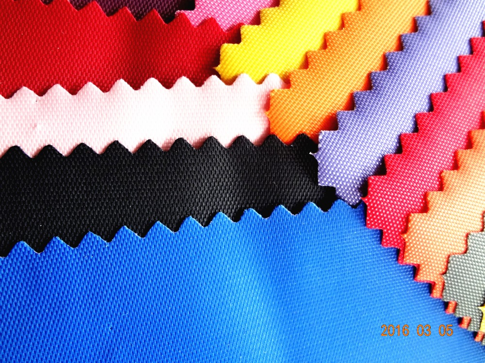 nylon fabric for bag, 420D nylon fabric coated with PVC, bag fabric