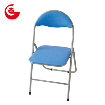 Groovy Light Blue Pvc Seat Small Cheap Metal Picnic Party Folding Chairs Buy Party Folding Chairs Small Cheap Metal Folding Chairs Folding Picnic Chairs Cjindustries Chair Design For Home Cjindustriesco
