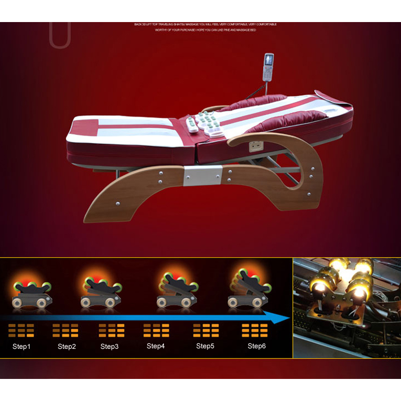 High Quality Infrared Massage Bed/New Design Heating Jade Massage Bed