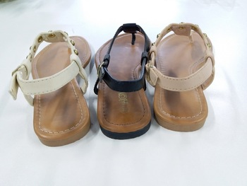 e99601de632345 New fashion lady fancy latest design TPR sole summer sandal shoe