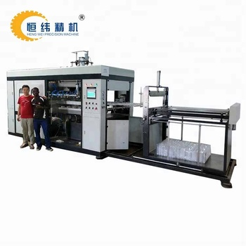 PET plastic vacuum forming machine thermoforming for blister