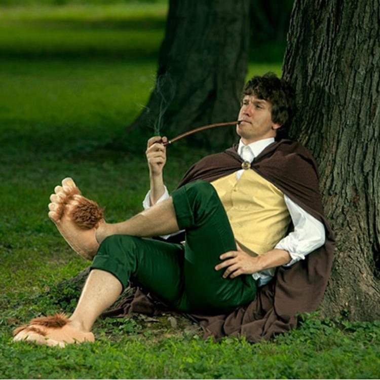 Pantoufles Pieds Hobbit UhQwOsVSBW