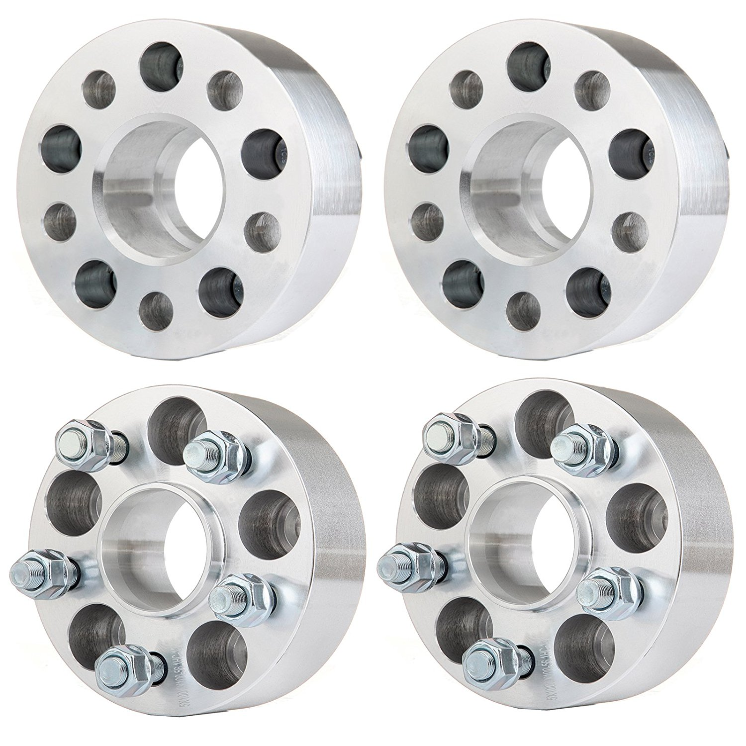 Cheap Subaru Wheel Size Find Deals On Line At 2000 Outback Axle Nut Get Quotations Eccpp Spacers 5lugs 4pcs 2 50mm Thick 5x100mm For 2014