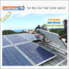Home appliaction 10kw solar panel system solar power system home