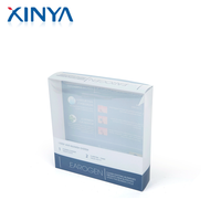 XINYA China Factory Folding Transparent Pvc Plastic Box With Window For Cosmetic Packaging