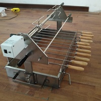 Skewers Rotation BBQ Spit Roast For Sale Brazilian Barbecue Machine