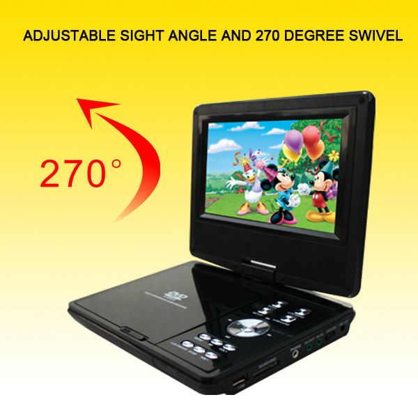 Hot Selling 7.5-Inch portable tv <strong>dvb</strong>-<strong>t</strong> <strong>hd</strong>