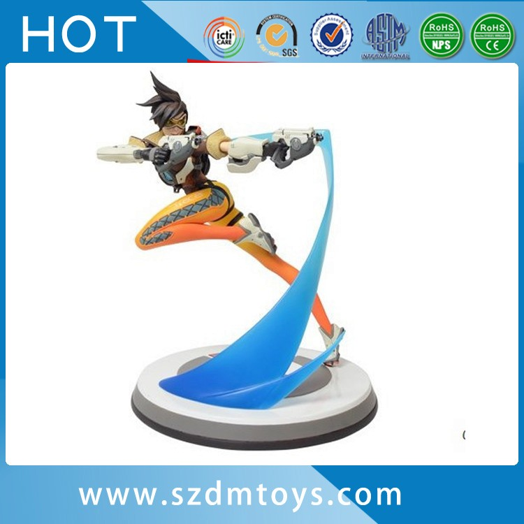 Video Game Character Deadpool Overwatch Pvc Action Figure For Sale ...
