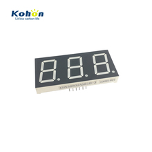 Rohs <span class=keywords><strong>ISO</strong></span> led-<span class=keywords><strong>anzeige</strong></span> FND 0,40 zoll 3 digit led 7 segment display