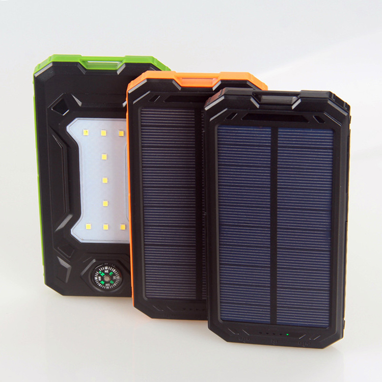 portable cell phone battery supply mobile disposable power charger solar disposable power bank