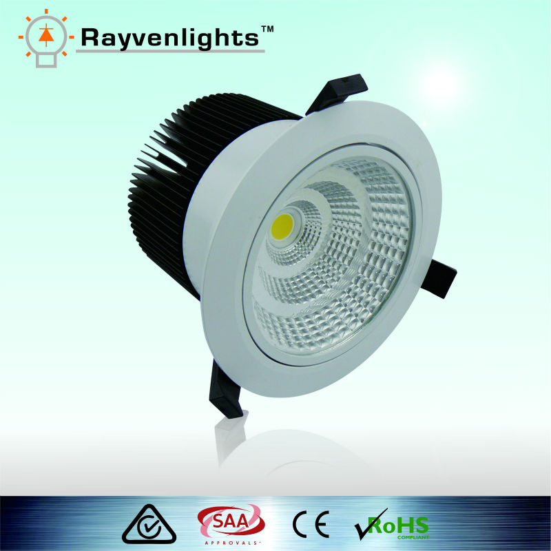 Super bright 35W Citizen Epistar 3000 lumen led downlight