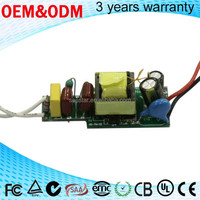 led power supplies ac to dc converters passing CE EMC/EMI 4w 7w led driver 300ma