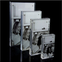 Clear acrylic wholesale 3x5 picture frames