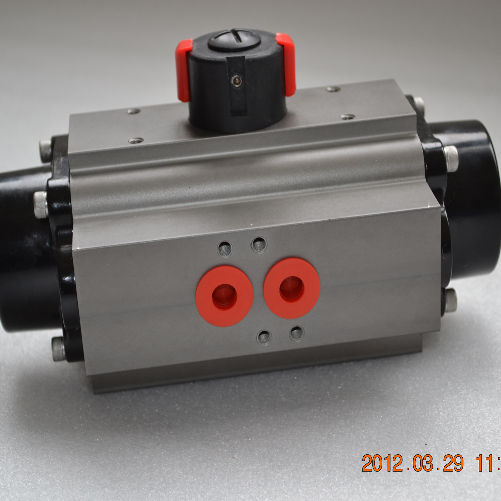 China made air torque stainless steel pneumatic actuator