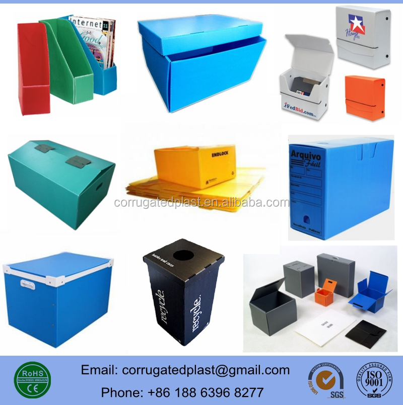 Corrugated Plastic Boxes, Corrugated PP Container, Coroplast Boxes