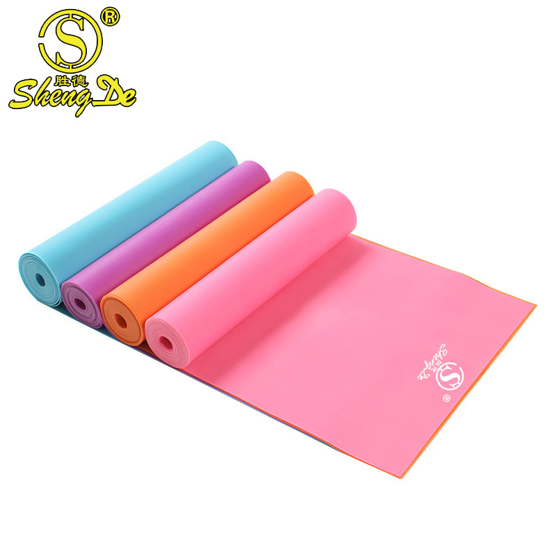 High Electricity Resistance TPE yoga stretch band For Yoga Exercise