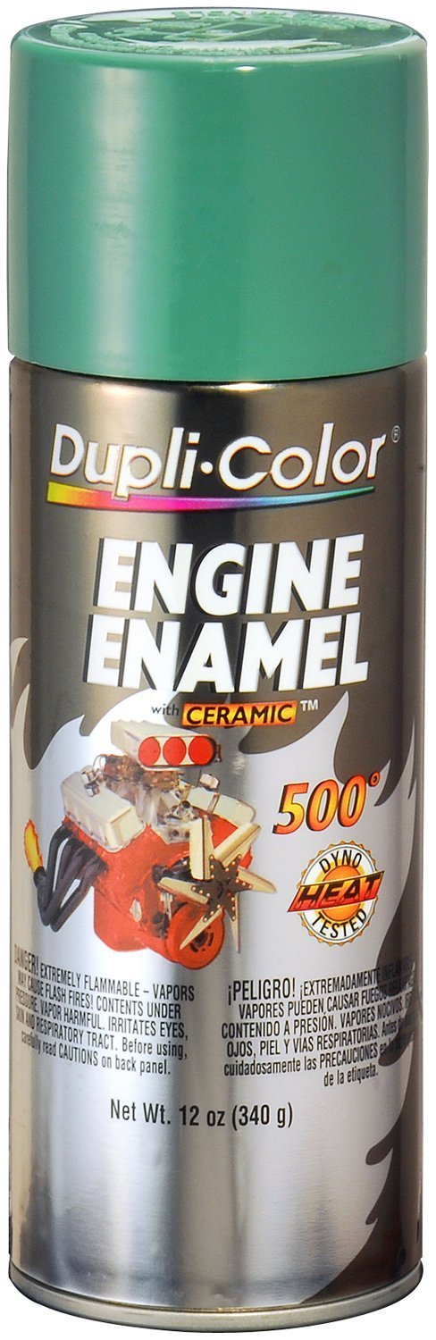Dupli Color Ede161807 Ceramic Detroit Sel Alpine Green Engine Paint 12 Oz