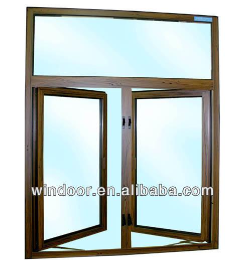 Casement Window Drawing : Aluminium openslaand raam tekenen ramen product id