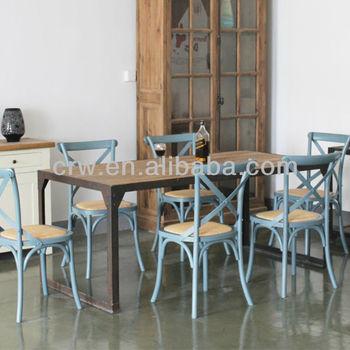 Sedie Per Tavolo Legno.Vintage Industrial Mobili Da Ristorante Ristorante Sedie Tavoli E
