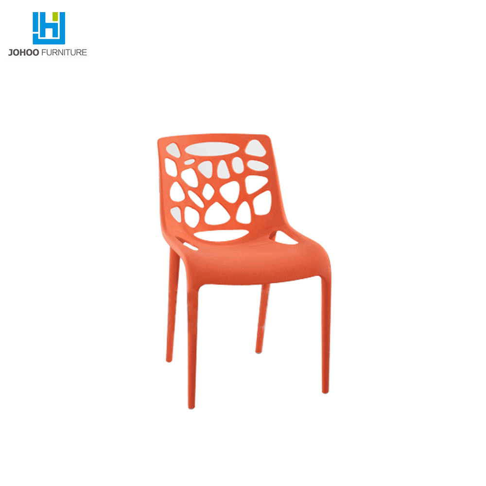 new design outdoor dining relax plastic chair shell