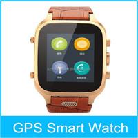 MTK6572 3G WIFI GPS Wifi 1+8G OGS IPS Screen Smartwatch Phone With Camera