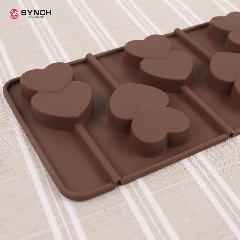 Home & Garden Silicone Round Lollipop Cake Chocolate Soap Pudding Jelly Candy Ice Cookie Biscuit Mold Mould Pan Bakeware Tb Sale