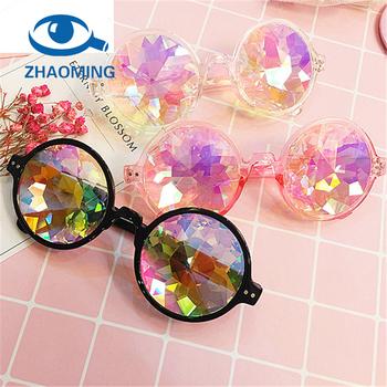 4e3bfe6d29 Fashion Oculos Party Kaleidoscope Sun glasses Cheap 2018 Rainbow Glasses  Men China retro wholesale Kaleidoscope Sunglasses