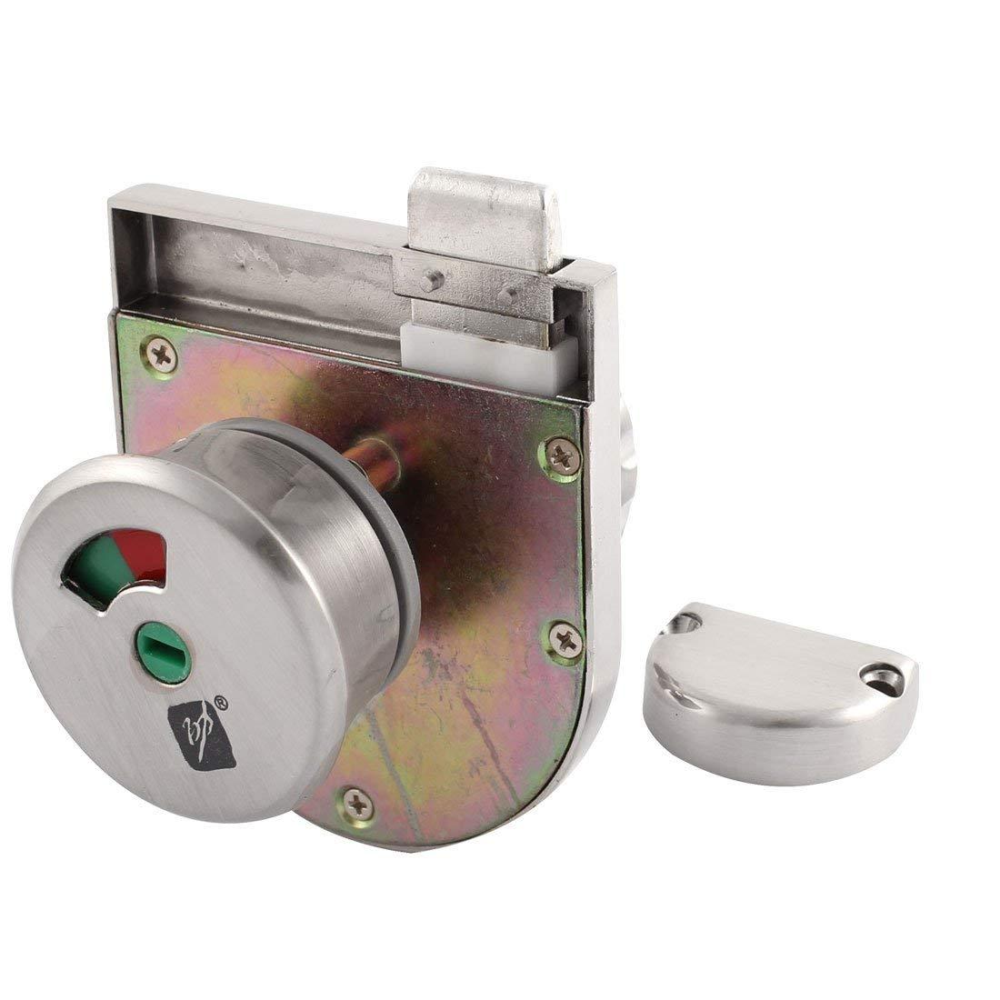 Uxcell a15052500ux0179 Toilet Door Lock Indicator 95cmx70cmx70cm Toilet Partition Sliding Glass Door Lock Indicator