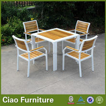 New Design Teak Wood Outdoor Furniture Table And Chairs